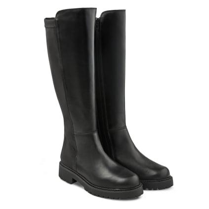 Stiefel mit Flexschaft Schwarz
