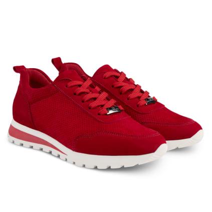 Sneaker Leder Classic Rot
