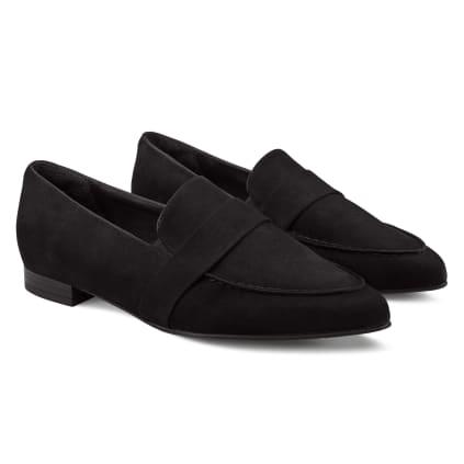 Loafer Spitz Schwarz
