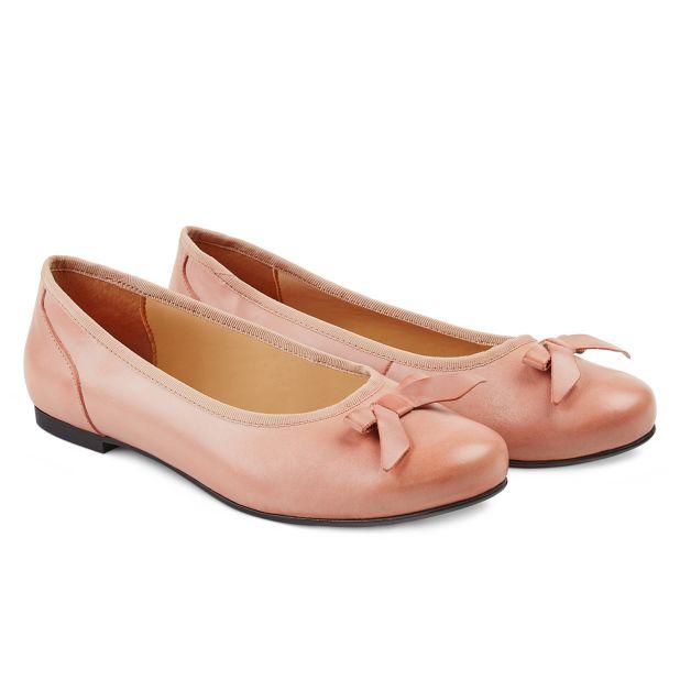 Ballerina mit Schleife Rosé
