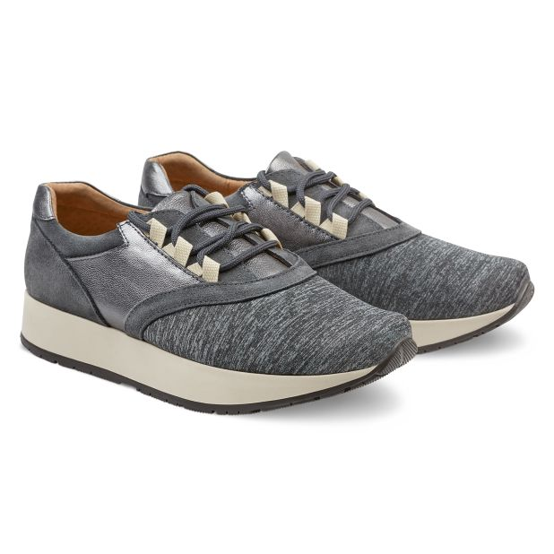 Sneaker Grau Melange