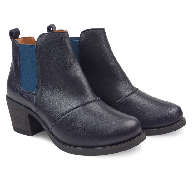 Boot im Chelsea-Stil Marine/Blau