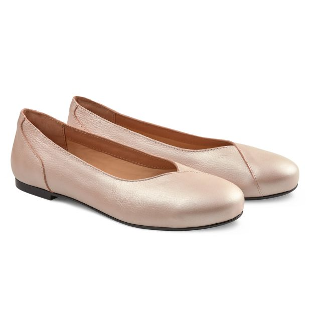 Flacher Ballerina Lightrosé