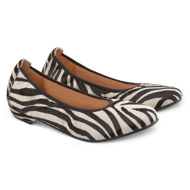Ballerina Animal Print Zebra