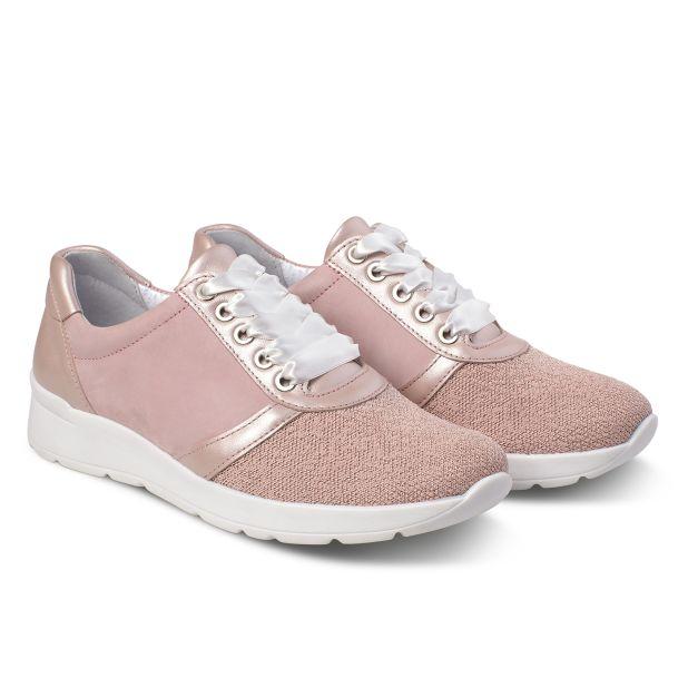 Sneaker Softknit Rosa