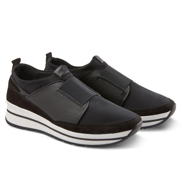 Sock-Sneaker Schwarz