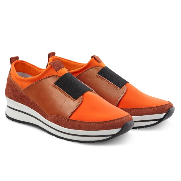 Sock-Sneaker Orange
