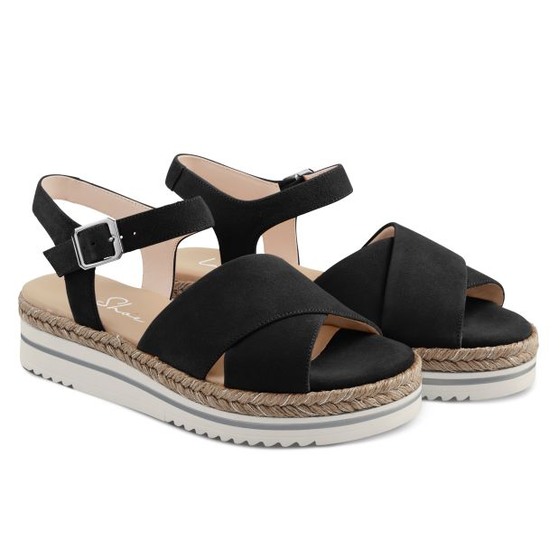 Sandale Summertime Schwarz