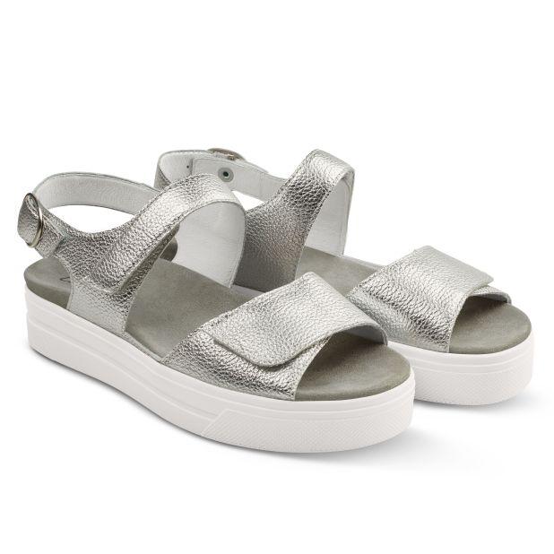 Sport Sandale Silber