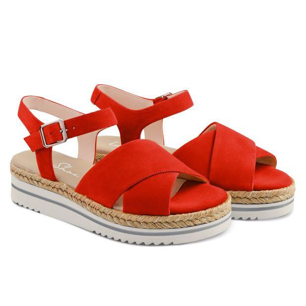 Sandale Summertime Rot