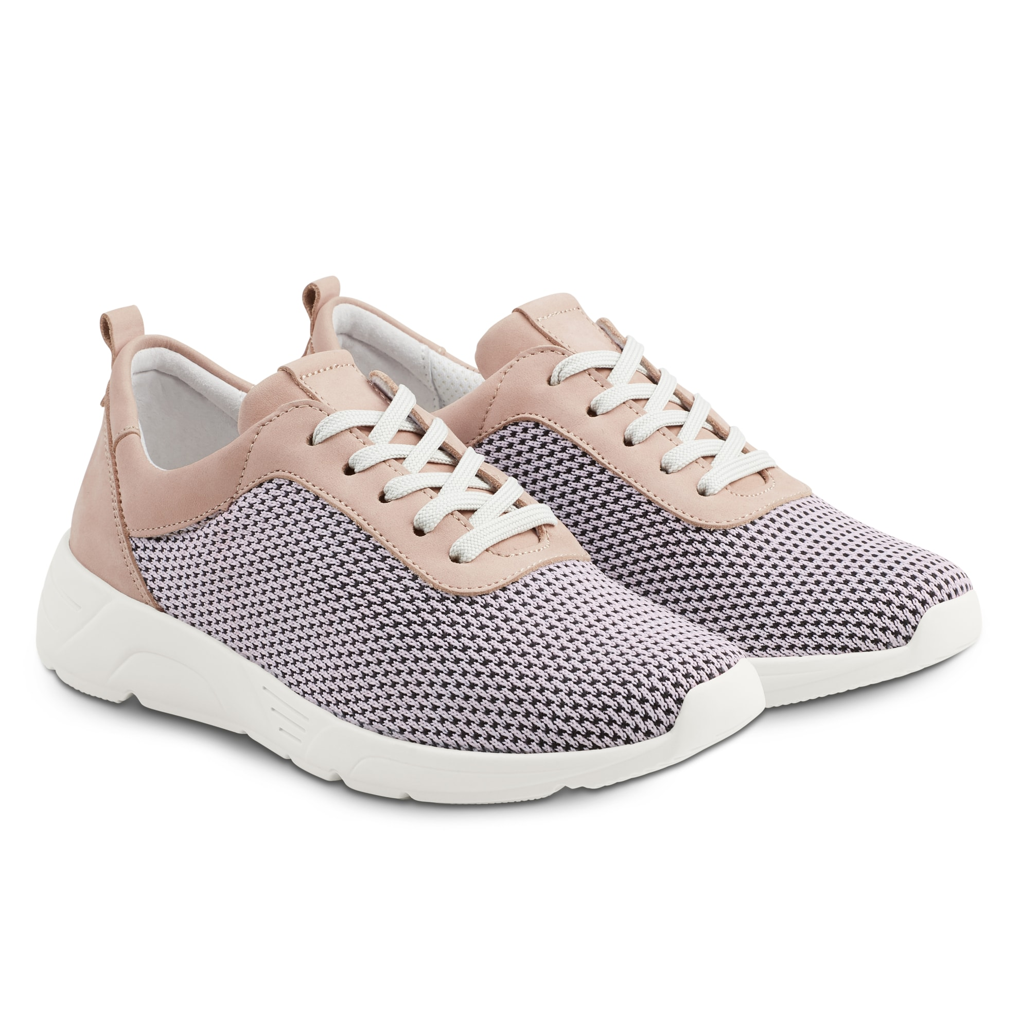 Sneaker Softknit Neu Rose – modischer und bequemer Schuh für Hallux valgus und empfindliche Füße von LaShoe.de