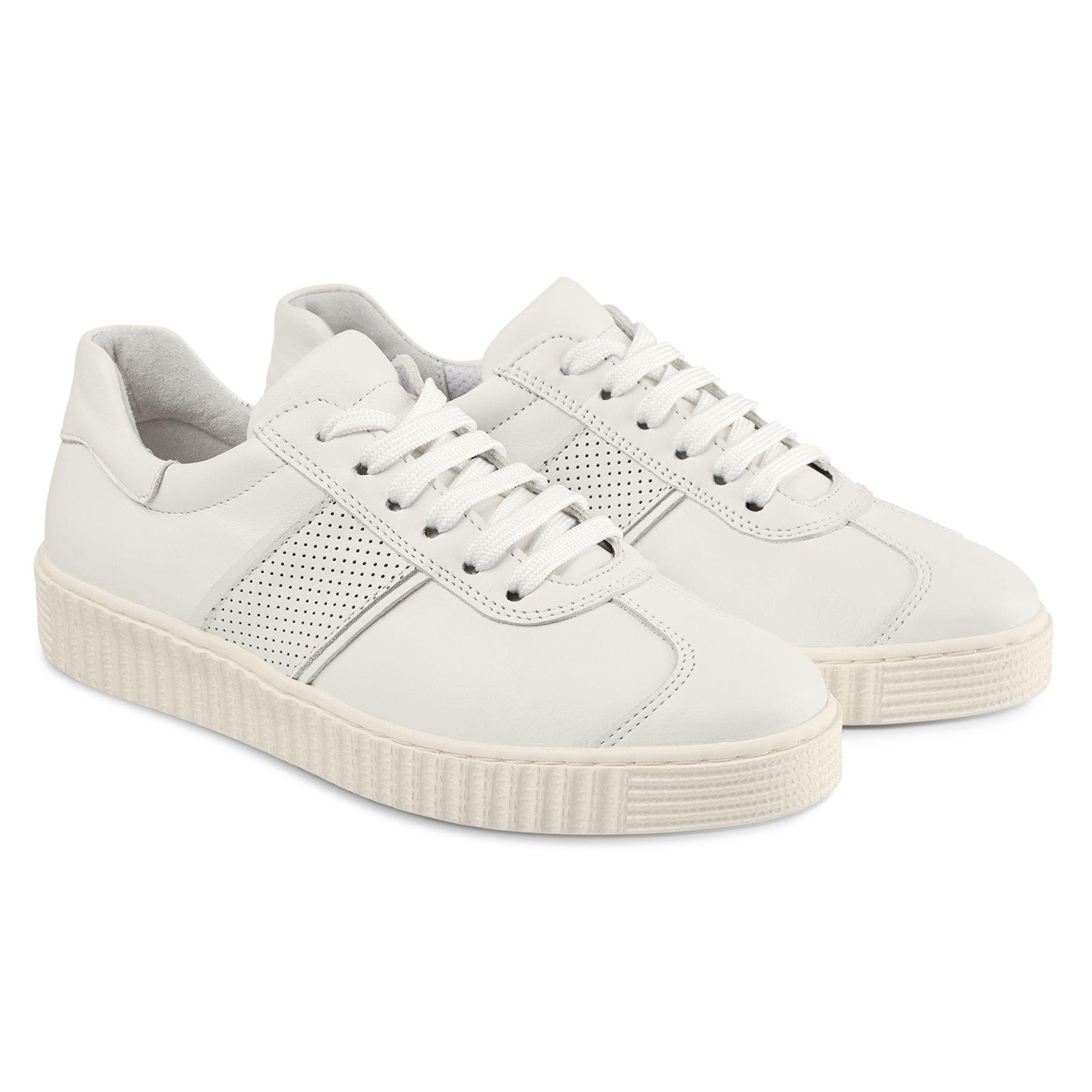 Sneaker Retro Weiß – modischer und bequemer Schuh für Hallux valgus und empfindliche Füße von LaShoe.de