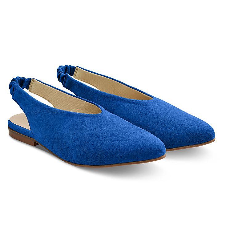 Backsling Slipper Blau