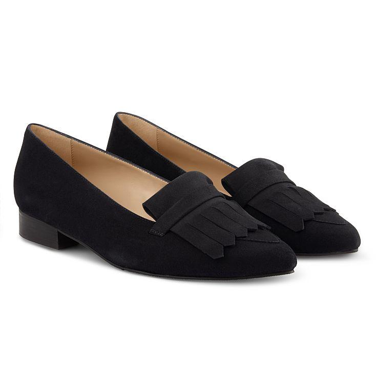 Femininer Loafer Classic Schwarz