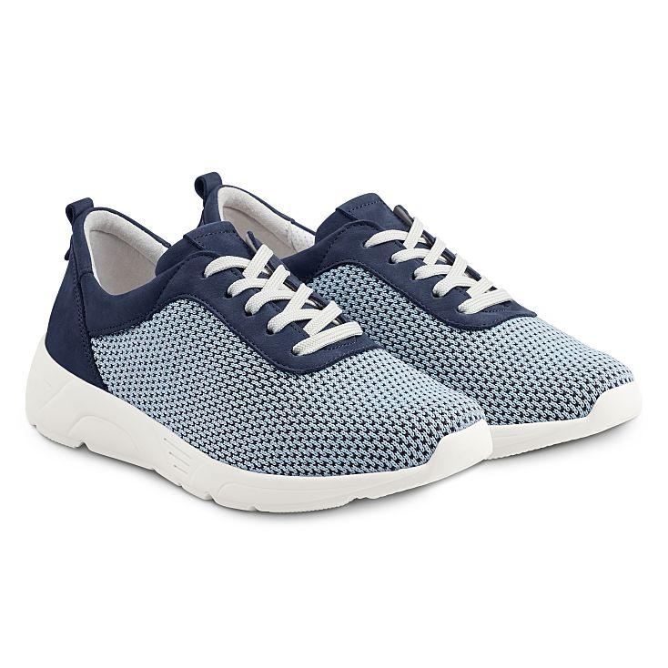 Sneaker Softknit Neu Blau