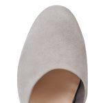 Sling-Ballerina Grau – modischer und bequemer Schuh für Hallux valgus und empfindliche Füße von LaShoe.de