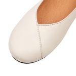 Flacher Ballerina Perle – modischer und bequemer Schuh für Hallux valgus und empfindliche Füße von LaShoe.de
