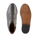 Schnürboot Grau – modischer und bequemer Schuh für Hallux valgus und empfindliche Füße von LaShoe.de