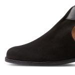 Boot mit Cut-Outs Schwarz – modischer und bequemer Schuh für Hallux valgus und empfindliche Füße von LaShoe.de