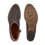 Western-Stiefelette Anthrazit – modischer und bequemer Schuh für Hallux valgus und empfindliche Füße von LaShoe.de