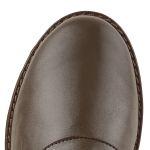Langschaftstiefel normaler Schaft Dunkelbraun – modischer und bequemer Schuh für Hallux valgus und empfindliche Füße von LaShoe.de