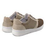 Sneaker Softknit Khaki – modischer und bequemer Schuh für Hallux valgus und empfindliche Füße von LaShoe.de
