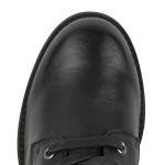 Schnürboot Schwarz – modischer und bequemer Schuh für Hallux valgus und empfindliche Füße von LaShoe.de