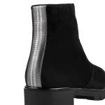 Premium Bootie mit Galonstreifen  – modischer und bequemer Schuh für Hallux valgus und empfindliche Füße von LaShoe.de