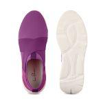 Sock-Sneaker X Lila – modischer und bequemer Schuh für Hallux valgus und empfindliche Füße von LaShoe.de