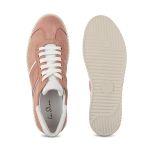 Sneaker Retro Rosé – modischer und bequemer Schuh für Hallux valgus und empfindliche Füße von LaShoe.de