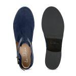 Boot mit Cut-Outs Marine – modischer und bequemer Schuh für Hallux valgus und empfindliche Füße von LaShoe.de