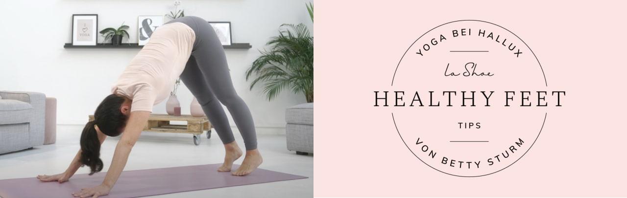 In Folge 1 unserer Yoga-Tutorials mit Betty Sturm dreht sich alles um Yoga-Grundlagen für entspannte und kräftige Füße
