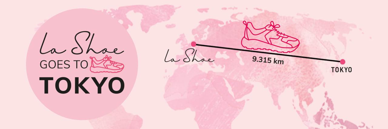 LaShoe sammelt Kilometer und läuft nach Tokyo
