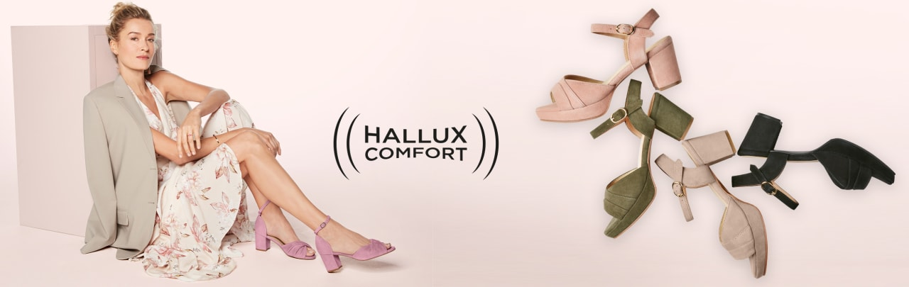 Wunderschöne LaShoes mit maximalem Komfort rund um den Vorfuß dank Hallux Comofort