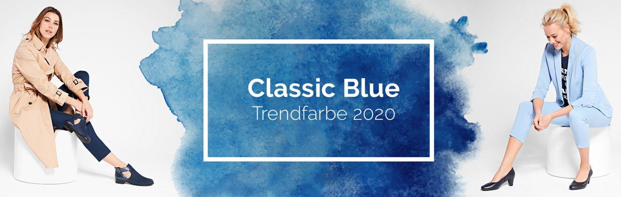 """Hallux Schuhe in der Trendfarbe 2020 """"Classic Blue"""""""