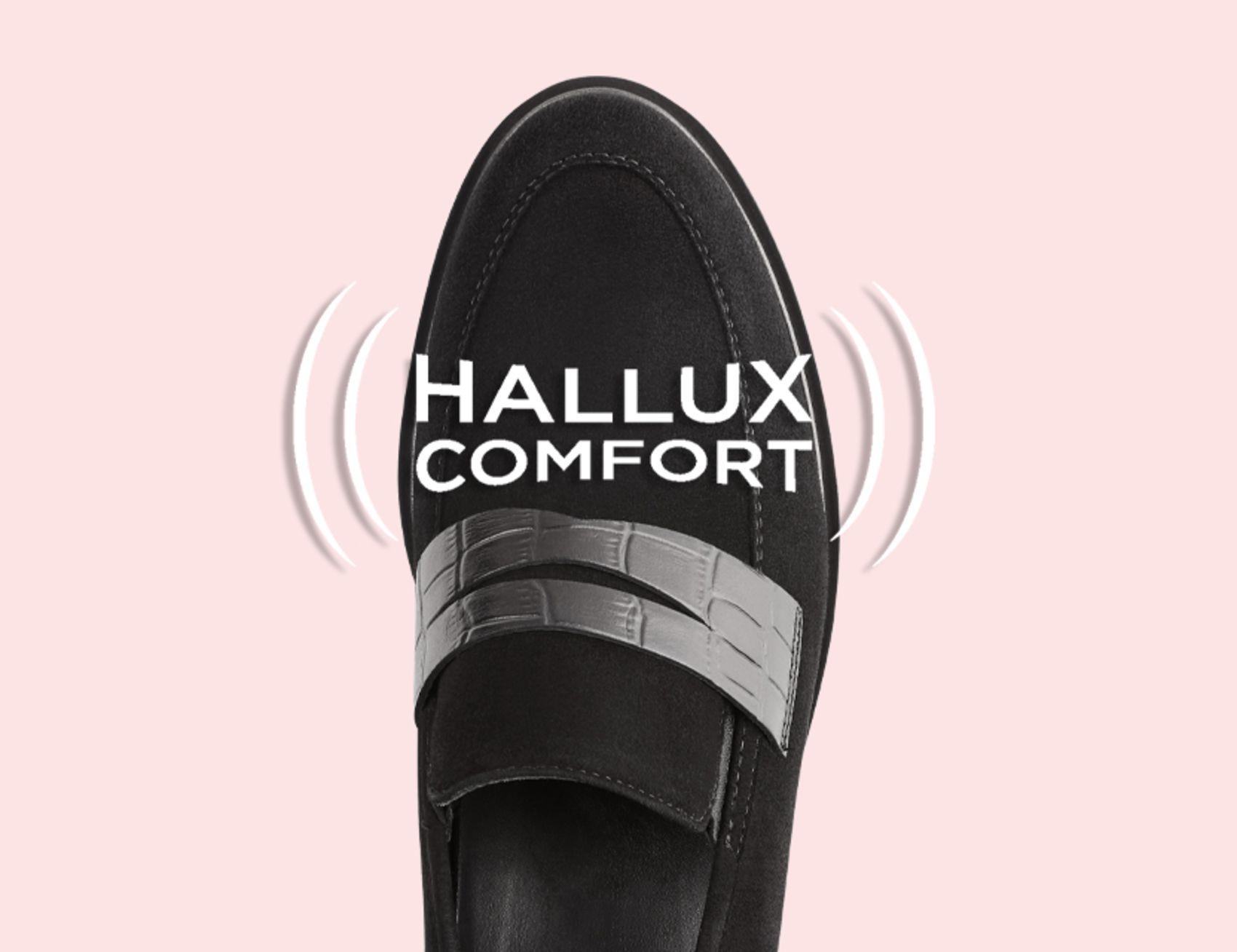 Erfahren Sie das Geheimnis der Hallux Comfort-Stretchzonen von LaShoe