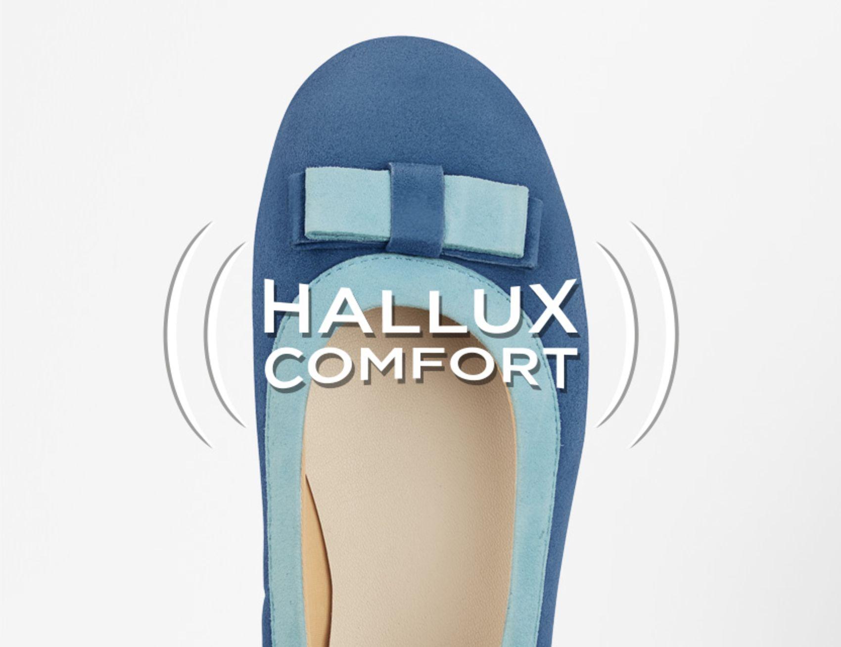 Das LaShoe-Prinzip mit Hallux Comfort Stretchzonen