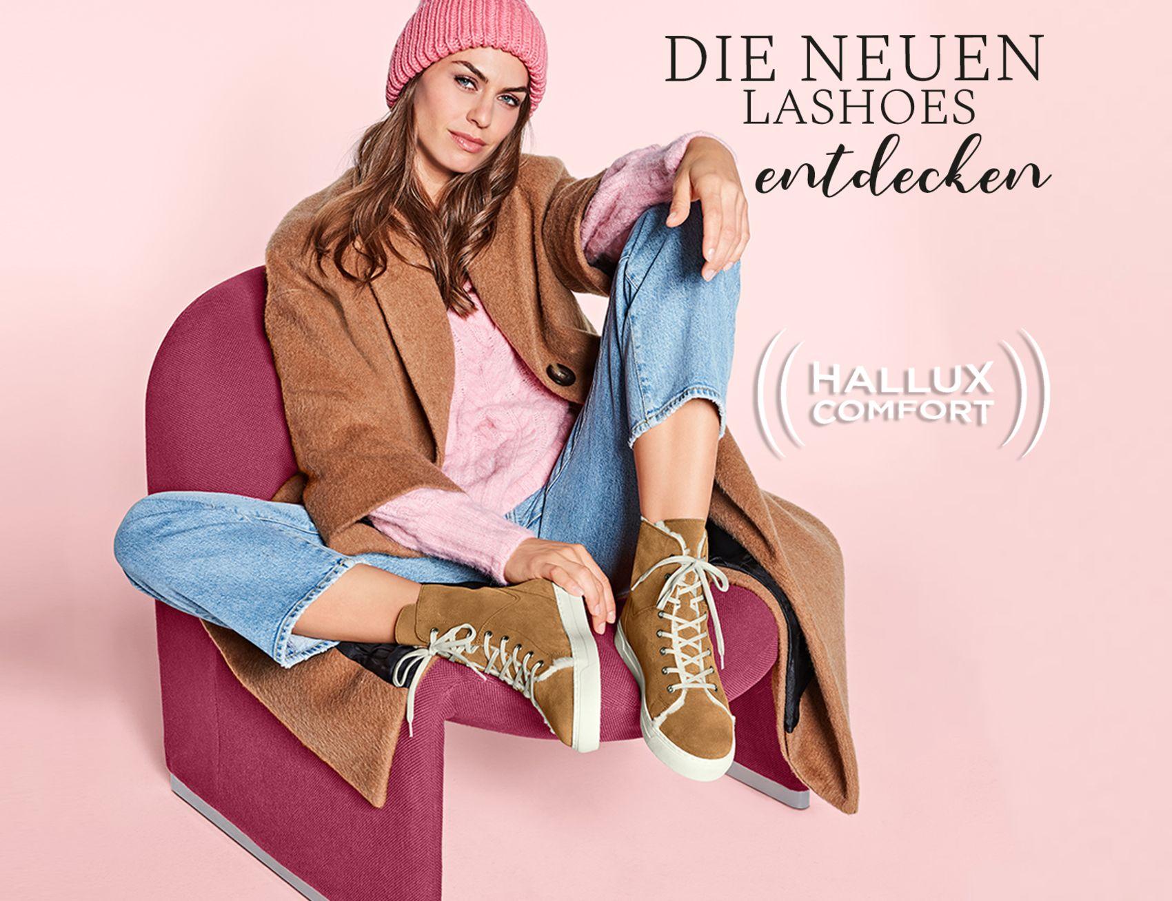 Jetzt die neuen Hallux-Schuhe von LaShoe shoppen