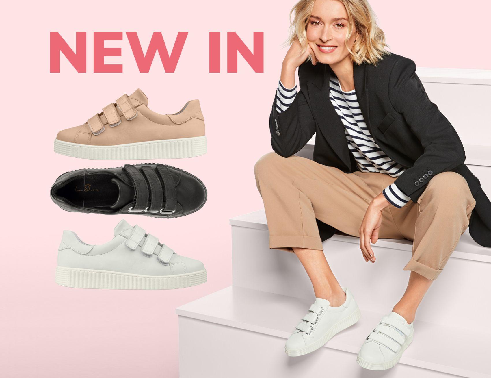 New In bei LaShoe! Entdecken Sie bequeme Hallux-Schuhe und Sneaker für empfindliche Füße