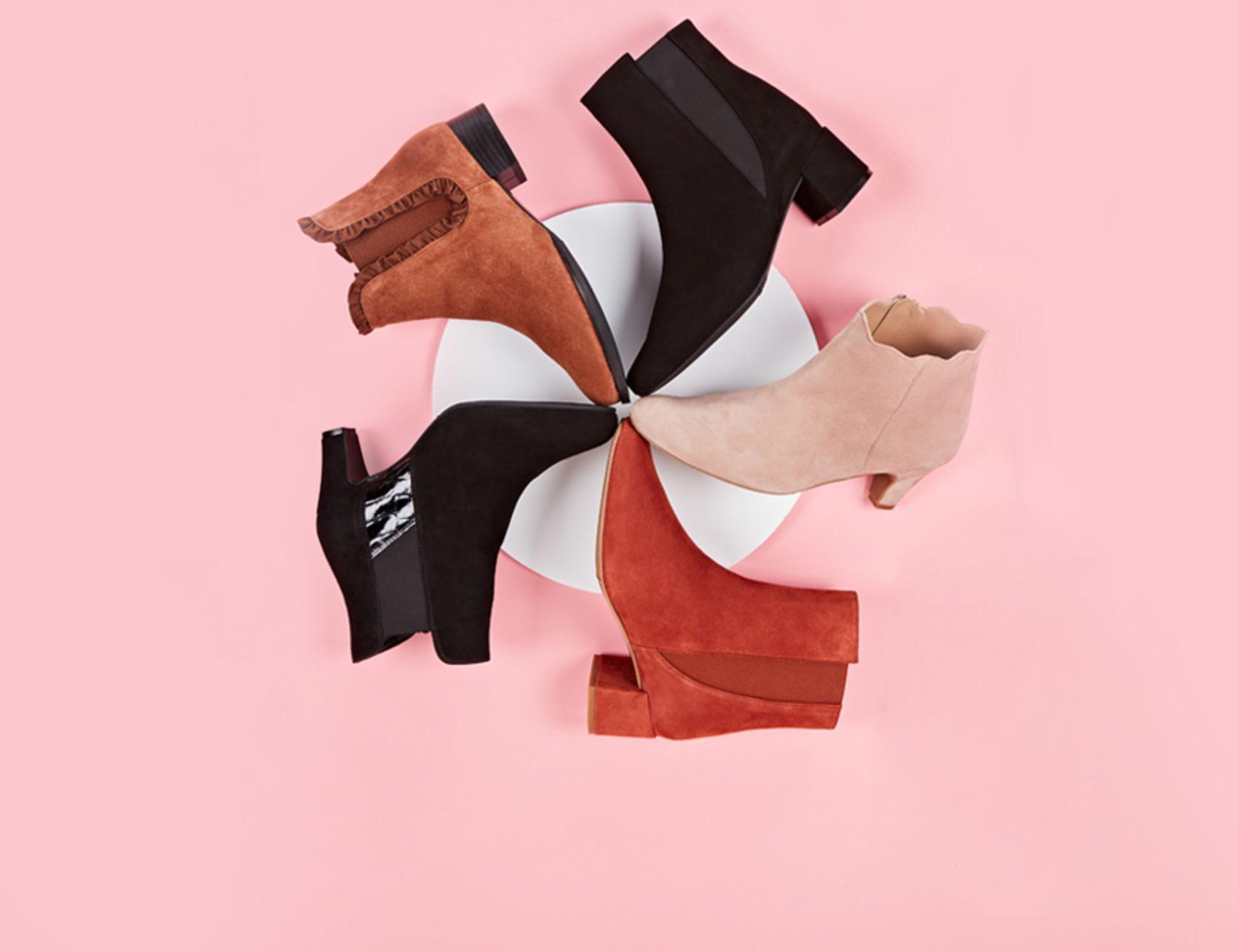LaShoes Stiefeletten in verschiedenen Farben passend zu jedem Outfit