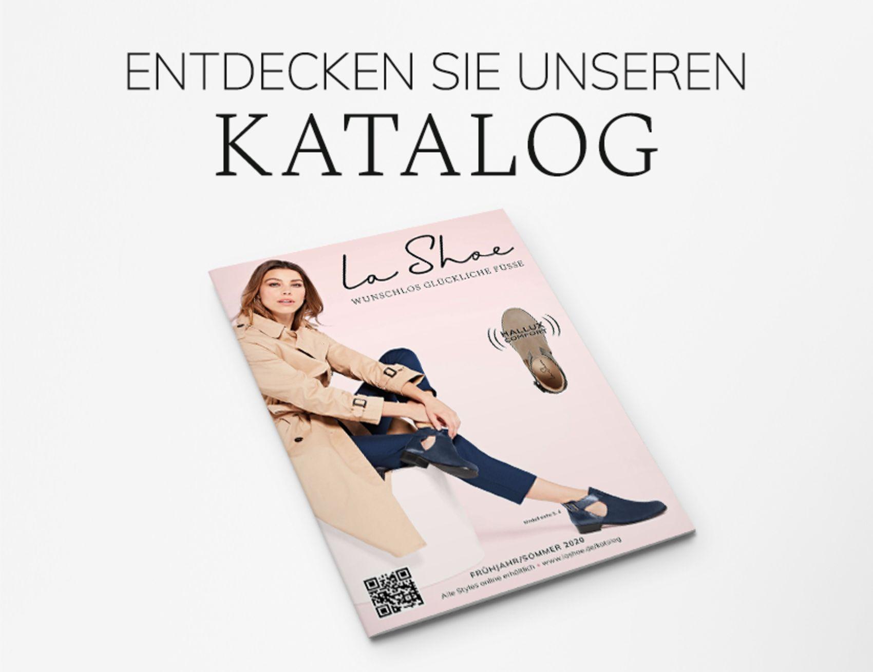 Entdecken Sie unsere LaShoes im aktuellen Katalog Frühjahr/Sommer 2020
