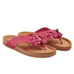 Flip Flop mit Blüten Beere