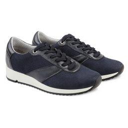 Sneaker Sporty Blau