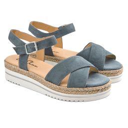 Sandale Summertime Hellblau