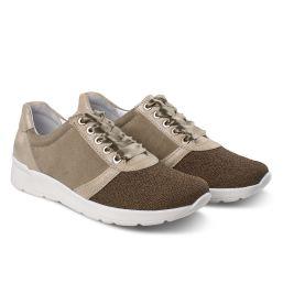 Sneaker Softknit Khaki
