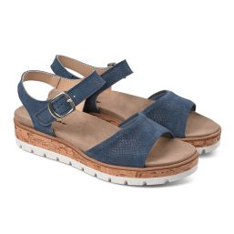 Sandale Comfy Blau