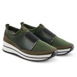 Sock-Sneaker Khaki