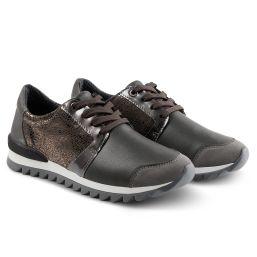 Sneaker Haifischsohle Grau