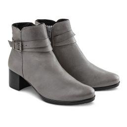 """Stiefelette """"Design deinen Schuh"""" Grau"""