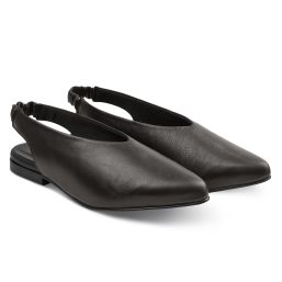 Backsling Slipper Schwarz